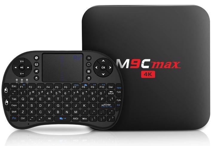 Bqeel M9C Max Android 6 Box 4K
