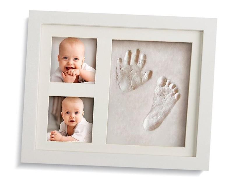 Marco para huella de mano y pie de recién nacido - Comprar