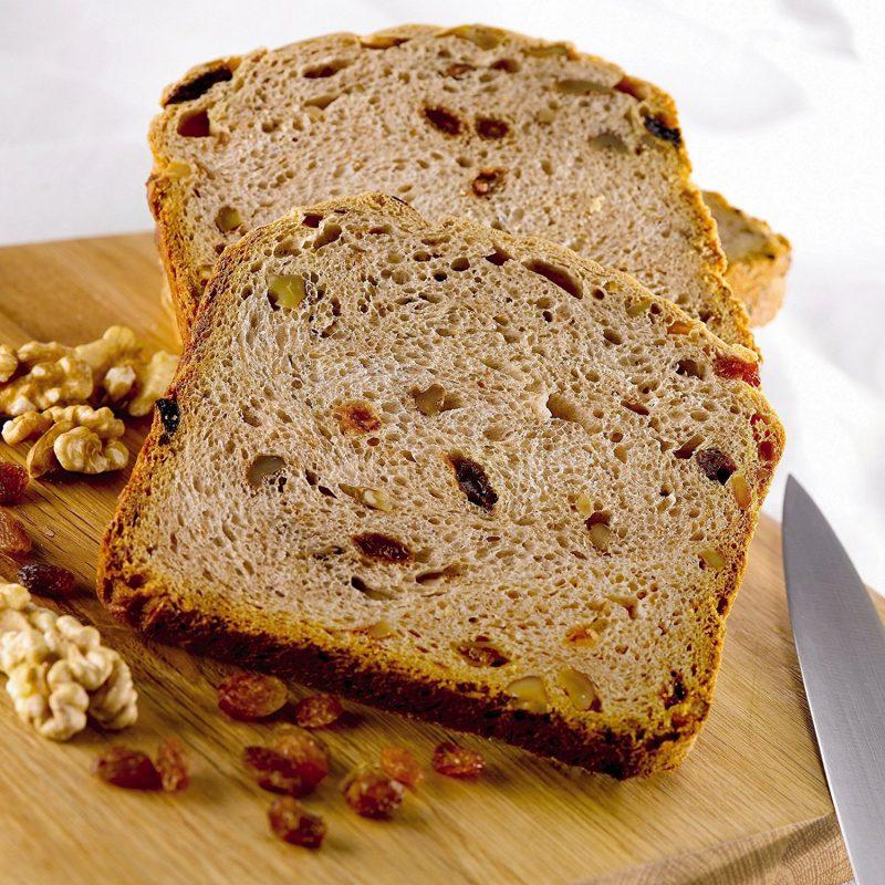 Pan hecho en casa con una panificadora