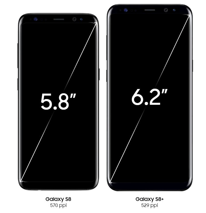 Samsung Galaxy S8 y S8 plus