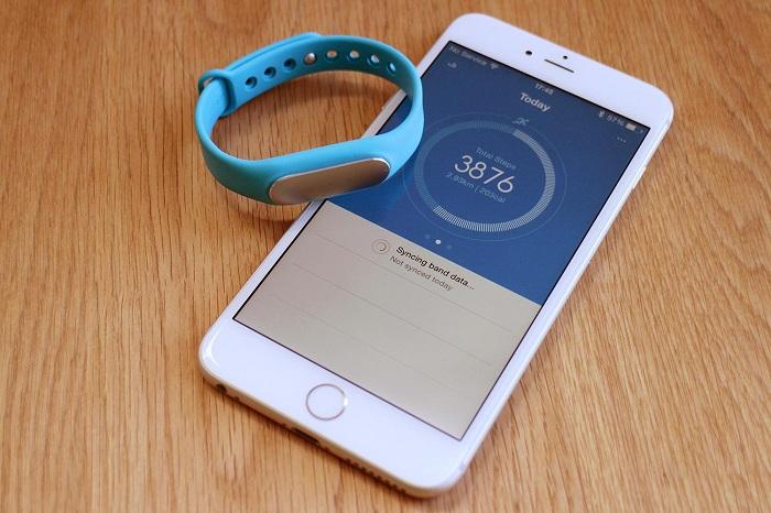 Xiaomi Mi Max 2 con pulsera
