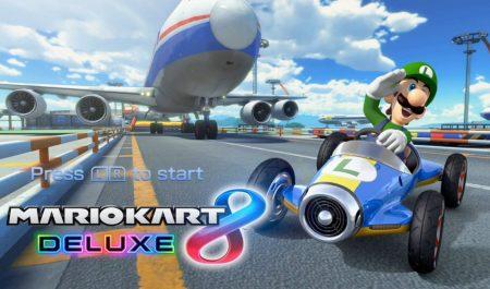 Mario Kart 8 y Luigi