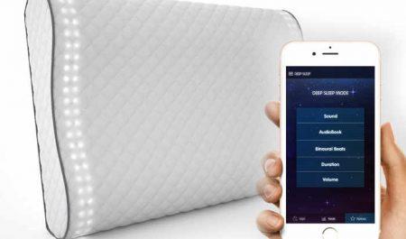 Sunrise Pillow con aplicación móvil