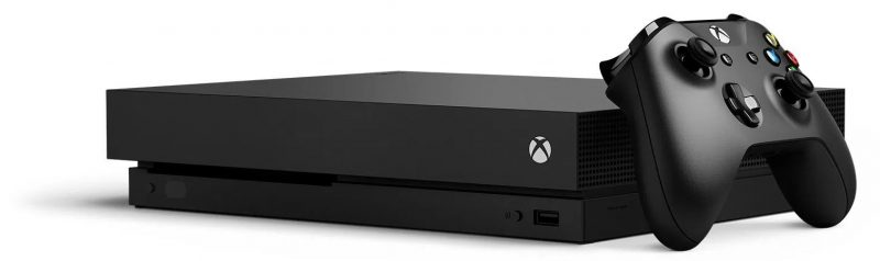 Imagen de la Xbox One X
