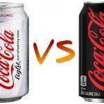 CocaCola Light vs CocaCola Zero