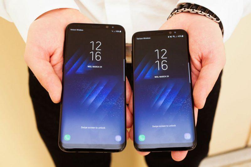 Samsung Galaxy S8 en sus dos versiones