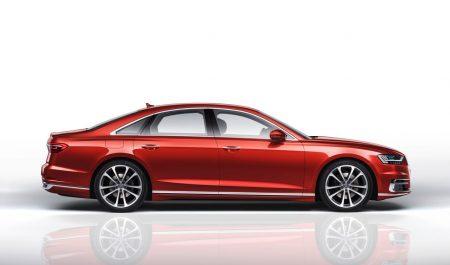 Lateral del Audi A8