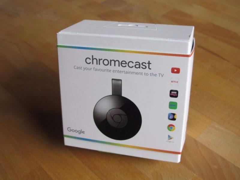 Caja Chromecast 2