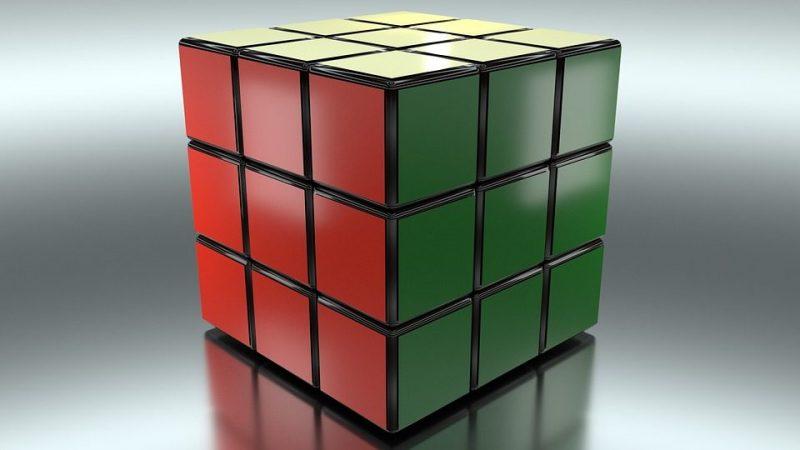 Cubo de Rubik clásico