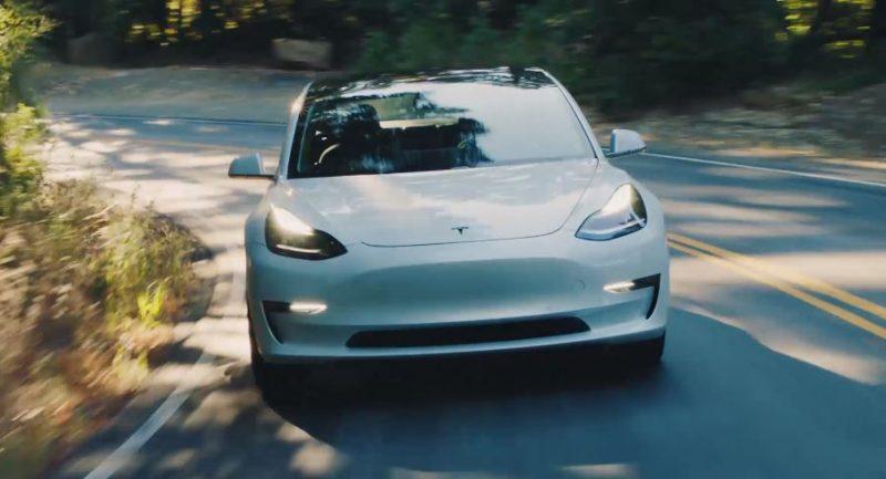 Delantera del Model 3