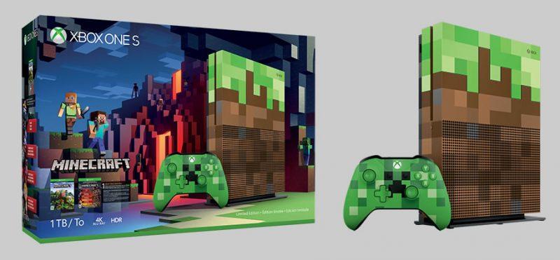 Edición Especial Xbox One S Minecraf