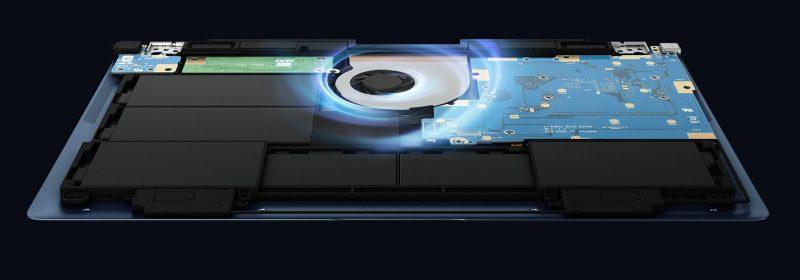 Interior ASUS ZenBook 3 Deluxe