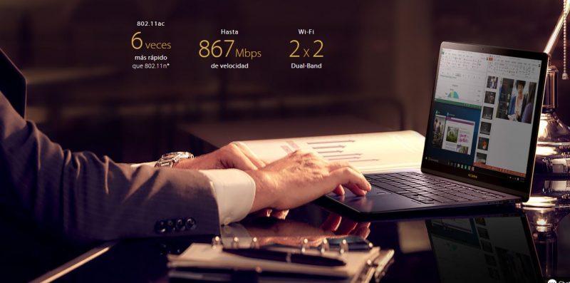 Internet en el ASUS ZenBook 3 Deluxe