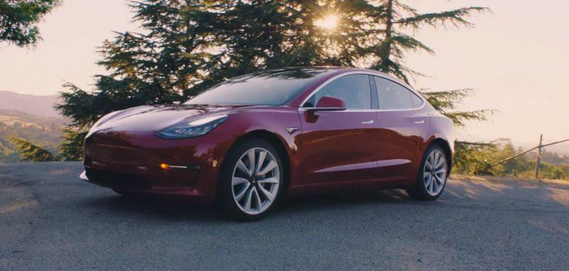 Model 3 rojo