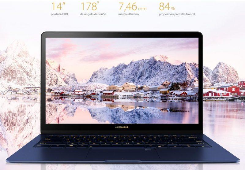 Pantalla del ASUS ZenBook 3