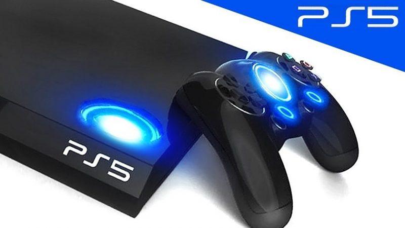 PlayStation 5 y mando de juego