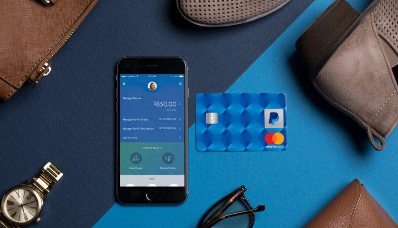 Tarjeta de crédito de Paypal
