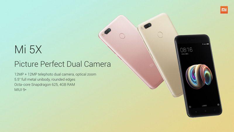Cámara del Xiaomi Mi 5X