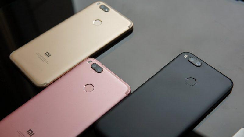 Colores del Xiaomi Mi 5X
