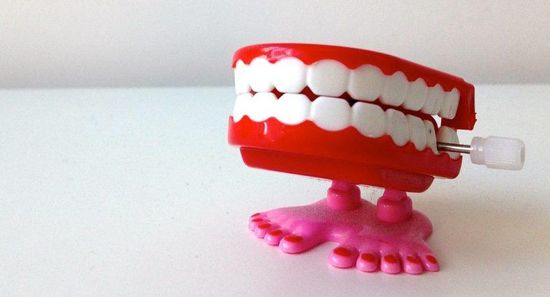 Dentadura de broma