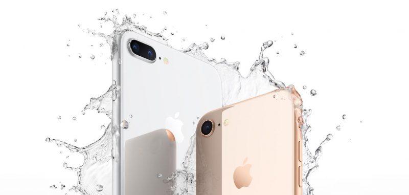 El iPhone 8 es resistente al agua