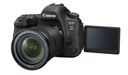 Frente de la Canon EOS 6d Mark II