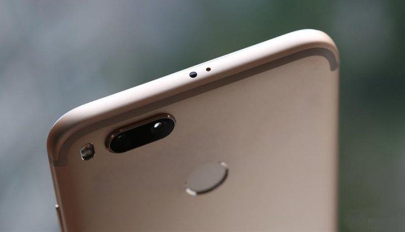 Trasera del Xiaomi Mi 5X