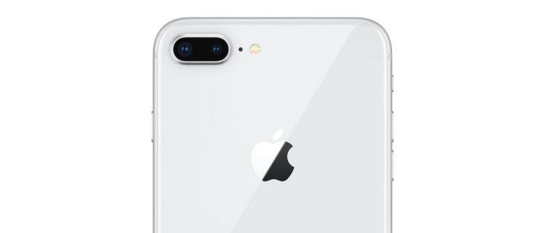 Trasera del nuevo iPhone 8