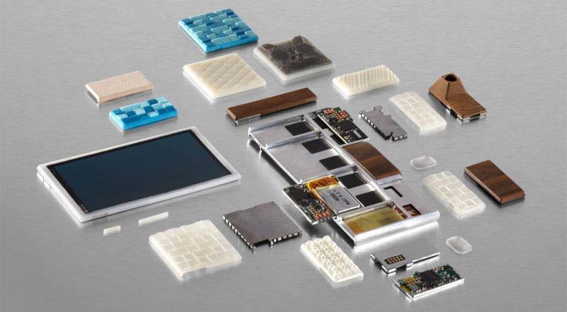 Smartphone por piezas