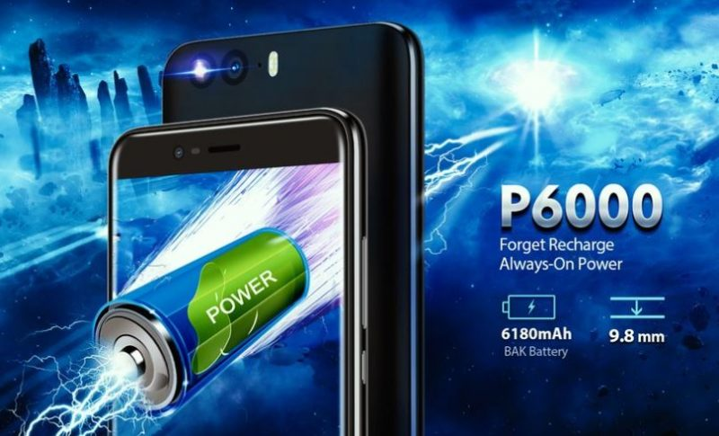 P6000 y su batería