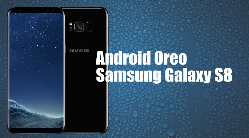 Android Oreo para Samsung Galaxy S8