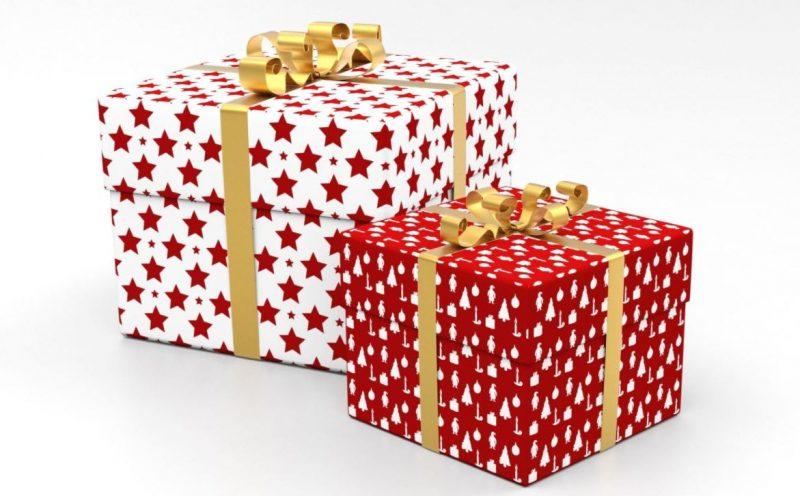 Cajas con regalos