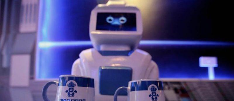 Robot camarero Morta