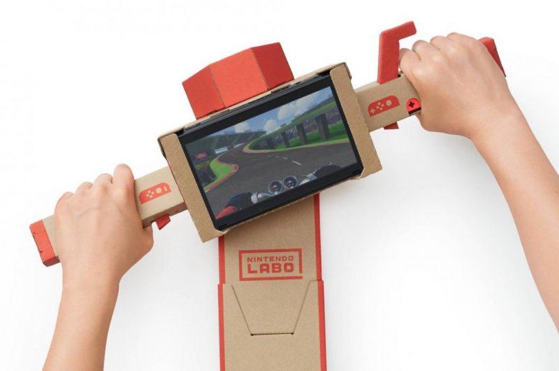 Moto de Nintendo Labo
