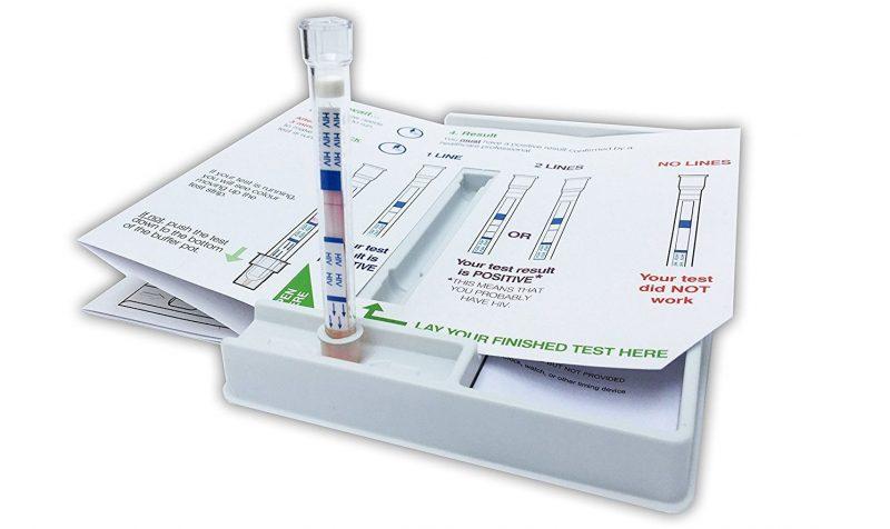 Test para casa del virus del sida