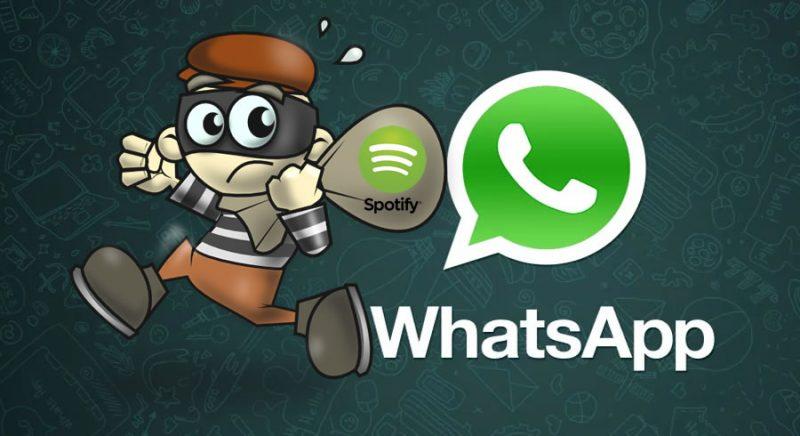 Timo Whatsapp de Spotify
