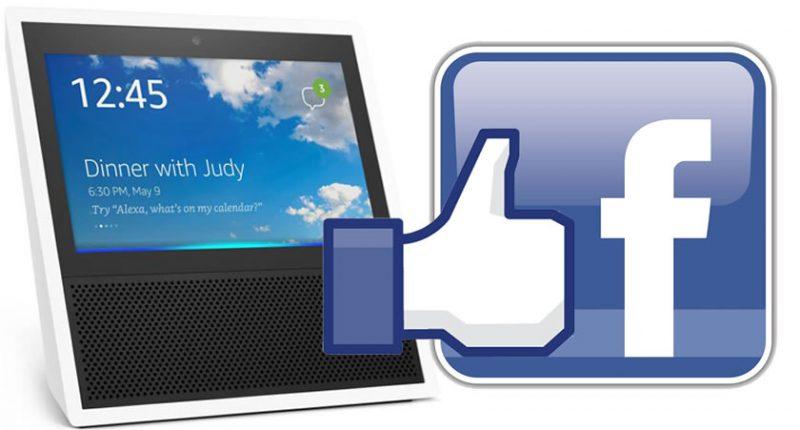 Altavoces Facebook