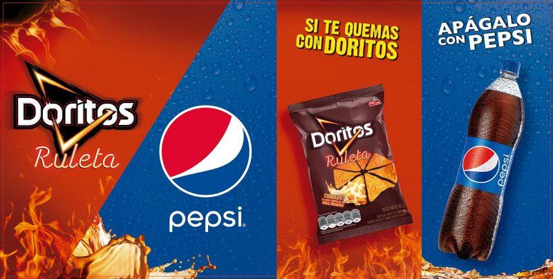 Doritos y Pepsi
