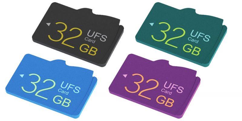 Memorias flash UFS