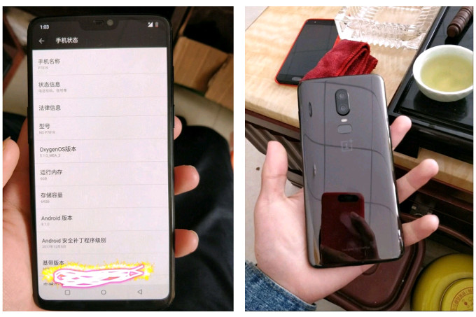 OnePlus 6 nuevo