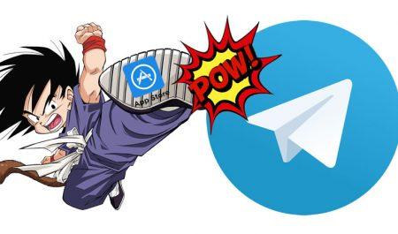 Telegram en Apple Store