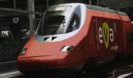 Tren EVA de Renfe