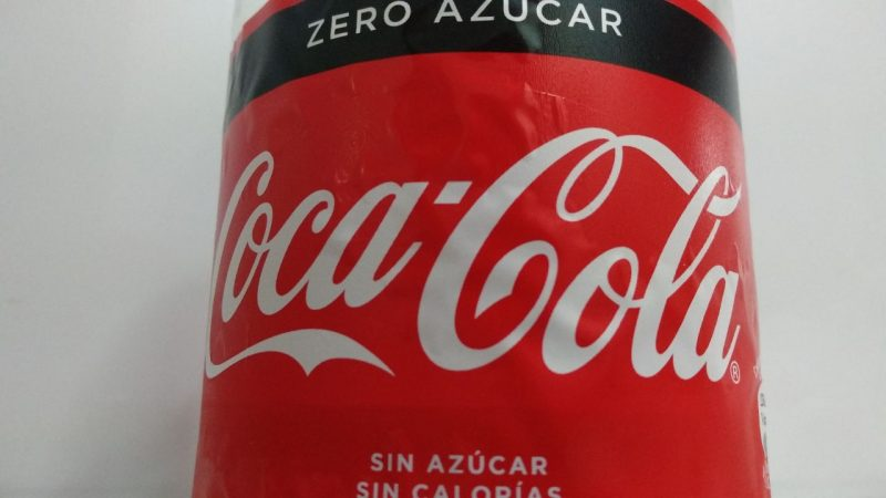 cuantas calorias tiene una coca cola zero