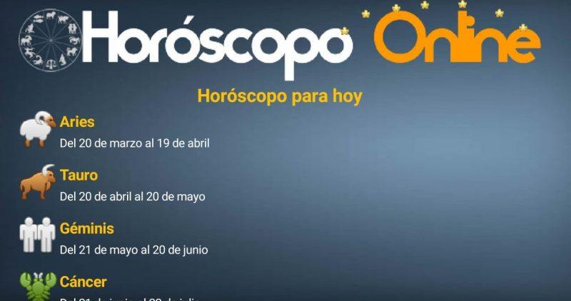 Horóscopo Online