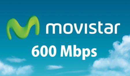 Movistar a 600 Mbps