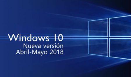 Windows 10 actualización Abril