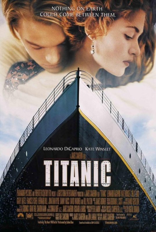 Carátula de Titanic