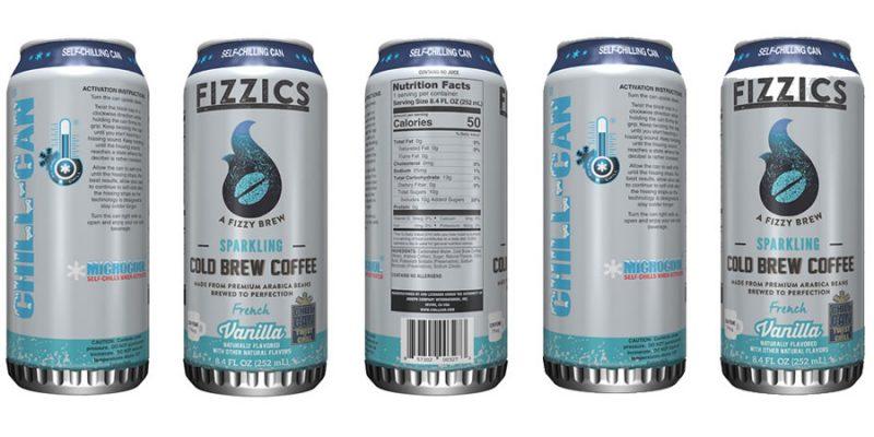 Fizzics Sparkling Cold Brew Coffee