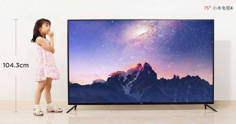 Xiaomi Mi Tv 4k de 75 pulgadas