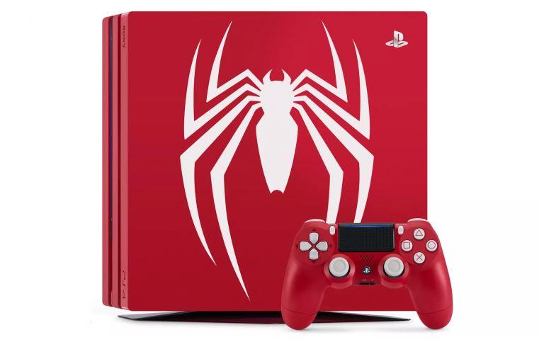 PlayStation 4 Pro Edición Spider-Man